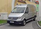 VW Crafter RWD a 4motion: Trakce a pohodlí