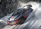 Švédská rallye po RZ8: Trio Hyundai vládne
