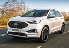 Modernizovaný Ford Edge: Nabídne až osmistupňovou převodovku!