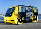 Volkswagen Sedric se tentokrát představuje jako autonomní školní autobus