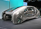Renault EZ-GO: Stříbřitá robotická divná věc na kolech