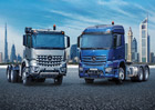 Mercedes-Benz Actros a Arocs pro Střední východ a Afriku