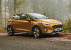 Ford Fiesta Active odhalil české ceny. Kolik dáte za malý crossover?