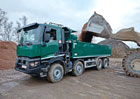 Renault Trucks uvádí přepracovaný přídavný pohon předních kol Optitrack