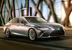 Nový Lexus ES na prvním snímku. Tohle je nástupce GS s pohonem předních kol