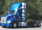 Kenworth T680 HECT: Tahač s hybridním pohonným ústrojím pro dopravu v přístavech