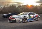 Nové sériové BMW 8 Coupé a závodní M8 GTE míří společně na 24 hodin Le Mans