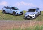 Subaru XV 1.6i-S AWD vs. Toyota C-HR 1.2 Turbo AWD – Mimozemšťané
