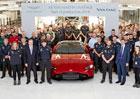 Aston Martin slavnostně zahájil výrobu nového Vantage