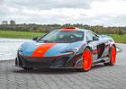 """McLaren 675LT se u MSO převlékl za F1 GTR """"Longtail"""" v barvách týmu Gulf-Davidoff GTC"""