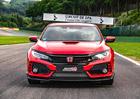 Honda Civic Type R se sbíráním rekordů nekončí! Další veze z belgického Spa