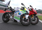 Podívejte se, jak to Ducati Panigale V4 sluší v barvách policie
