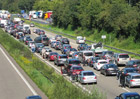 Střední Evropu čeká jeden z nejnáročnějších dopravních víkendů