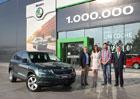 Škoda už vyrobila milion SUV. Který model vede v počtu kusů?