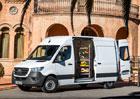 Technologie Mercedes-Benzu Sprinter: Další pomocníci