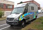 Policie má nový speciální vůz. Za šest milionů...