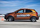 Ford školí mladé řidiče po celém světě. Letos si krizovky za volantem poprvé vyzkoušeli i u nás