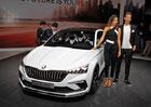 Paříž 2018 živě: Škoda Vision RS je předobraz nástupce Rapidu. A vypadá skvěle!
