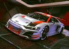 Audi R8 LMS GT3 v Paříži nabízí ochutnávku modernizovaného R8