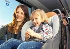 FlixBus ve svých autobusech nabízí zapůjčení dětských autosedaček