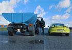Starý sovětský náklaďák vyzval ke sprintu Porsche Cayman. Čekáte jasného vítěze?