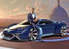 Will Smith má nové Audi RSQ e-tron, ale jen v animovaném filmu