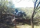 Žena, která prodělal dopravní nehodu, byla zachráněna po šesti dnech!