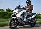BMW Motorrad uvádí na komfort zaměřený skútr C 400 GT