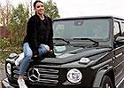 Video: Mercedes G to měl se Simčou těžké. Nakonec ho vzala na milost