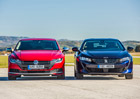 Peugeot 508 2.0 BlueHDi EAT8 vs. VW Arteon 2.0 TDI DSG – Umělecký dress code