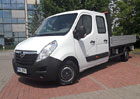 Opel Movano L3H1 Crew Van 2.3 CDTI Biturbo FWD: Sedm