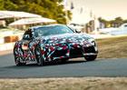 První Toyota Supra nové generace přijde na pořádný balík. Míří do aukce