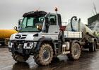 Mercedes-Benz Unimog U 423 zastane i roli zemědělského traktoru