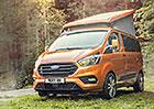 Ford Transit Custom Nugget pro toulavé dobrodruhy dostal novou tvář