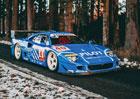 Vzácné Ferrari F40 LM z 24 hodin Le Mans míří do aukce