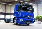 Mercedes-Benz dodává vozidla Antos se Sideguard Assist pivovaru Höfbrau