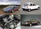 Pět aut s motorem s turbodmychadlem a karburátorem: Než přišlo vstřikování