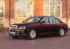 Aurus Senat jde do prodeje. K dispozici jsou dvě délky osmiválcové Putinovy limuzíny