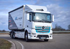 Mercedes-Benz eActros čeká náročná služba u Logistik Schmitt