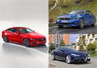 Modernizovaný Jaguar XE odhaluje ceny. Srovnali jsme je s rivaly od Alfy a BMW
