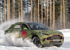 Aston Martin DBX v akci. Podívejte se, jak britské SUV řádí na sněhu!