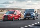 Ford zdokonaluje sportovně laděné členy rodiny modelů Transit