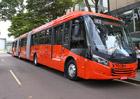 Scania dodala první dvoukloubové autobusy pro Brazílii