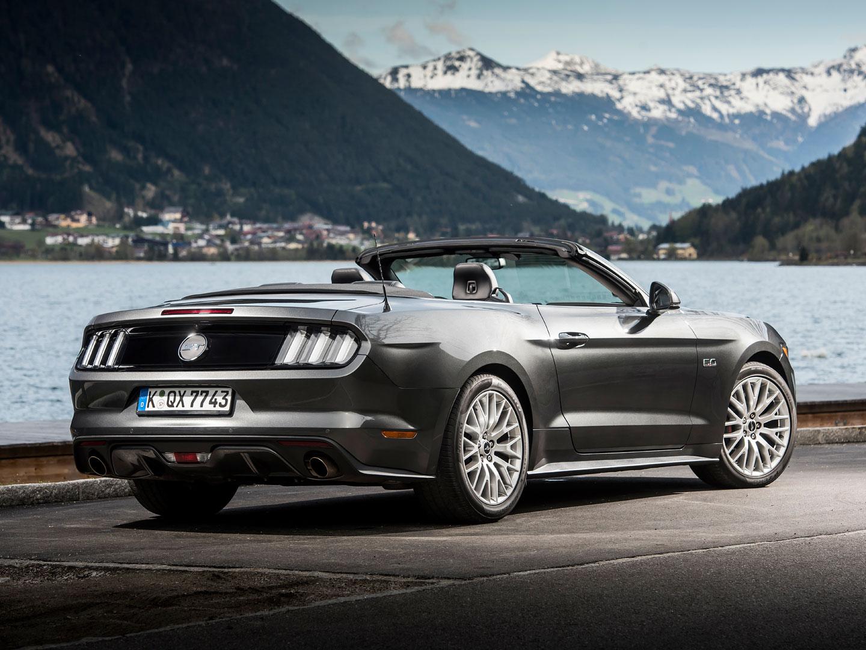 Galerie Ford Mustang Convertible 2.3 EcoBoost  První jízdní dojmy z Německa  · zoom d3e33490ba