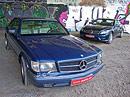 Mercedes-Benz 560 SEC vs CL 500 – Generační setkání
