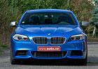 BMW M550d xDrive – Plnou parou vpřed