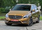 Mercedes B 180 CDI DCT – Ospojku lepší