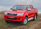 Toyota Hilux 2,5 D-4D – Výraz šviháka, zvyky dělníka
