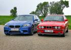 BMW M5 vs. BMW M5 – Supersedan po dvaceti letech