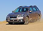 Subaru Outback Diesel CVT – Černoočko